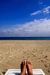 vacation is over (towards light) Tags: ocean vacation beach sand florida sunny atlanticocean delraybeach