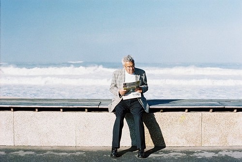 The Old Man and the Sea by Miguel Pires da Rosa, on Flickr