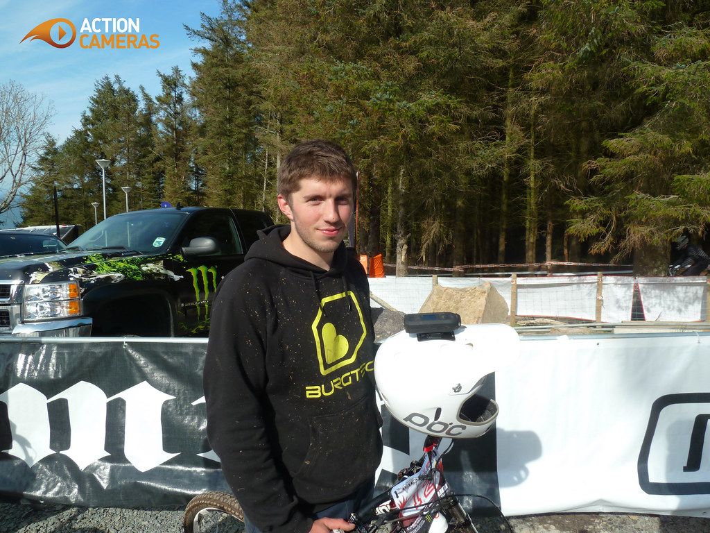 Action Cameras - Sam Dale, DH Mountain Biker 1