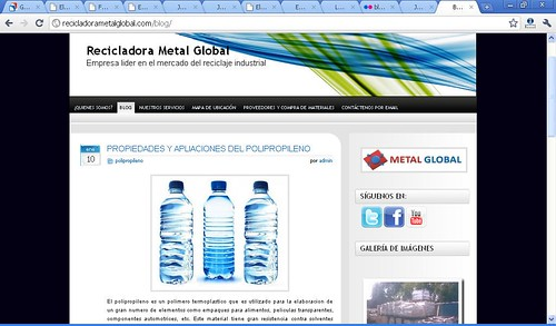 Blog de Recicladora Metal Global