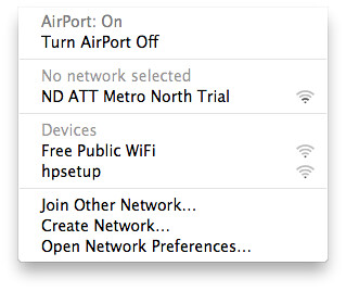 ND ATT Metro North Trial