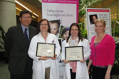 2011 Refunds for Research Check Presentation at the Hillman Cancer Center