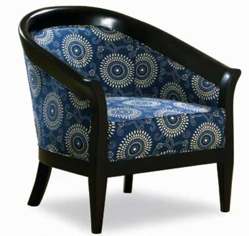 Circle Barrel Chair