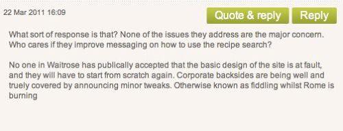 Waitrose complaint 2