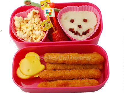 Bento #136 - Strips and Spuds