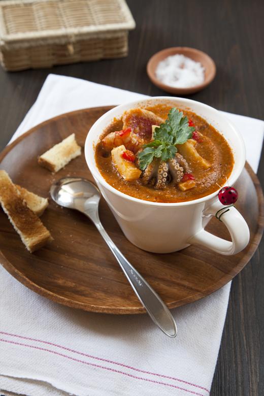 Zuppa di Pesce alla Saracena