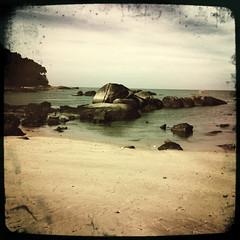 more beach, rocks