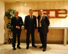El Presidente de FIAB se reúne con Tajani y Rosell
