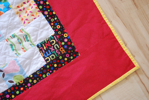I Spy Quilt Borders and Binding