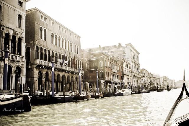威尼斯 水上光景