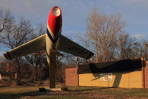 Plane at Veterans of Foreign Wars Post 6791, West Chicago