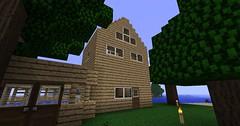 Minecraft - The Roof 2 (Reece Bennett) Tags: house blog minecraft benneyboy444