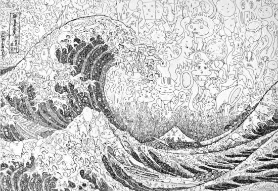 dibujos con miles de detalles