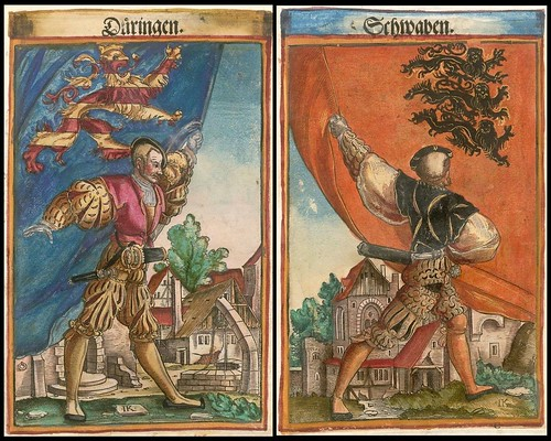 Holy Roman Empire Coats of Arms duo
