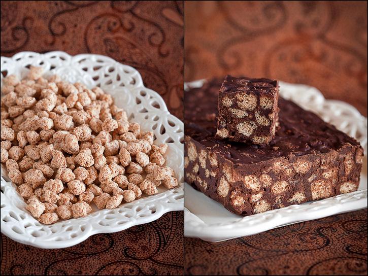 Bran and chocolate bars