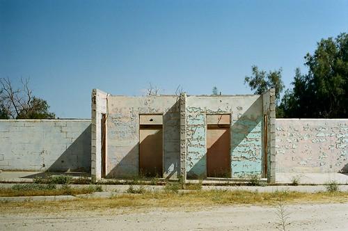 pastel ruins