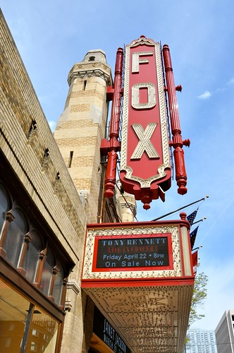 Fox Theatre Marquee Atlanta GA