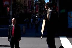 . (donald.martinez) Tags: street light shadow people woman man canon candid sydney streetphotography australia nsw canon5d lowkey 5dmarkii