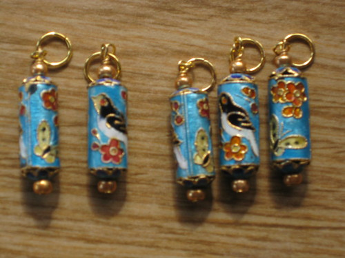 Bird stitch markers