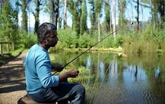 +Fishing+ (Attila con la cmara) Tags: film 35mm jack fishing fuji bokeh superia f14 victoria 200 vc marysville m6 nokton leicam6 troutfarm