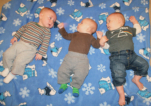 Miles, Jonas, and Karson