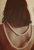 (Ebtesam.) Tags: sepia 35mm hair back nikon pearls saudi arabia pearl jeddah riyadh saudiarabia abdullah kingdomofsaudiarabia 35mm18 nikond40x d40x ابتسام ebtesam ebtesamabdullah