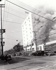 5-16-1945 Bekins 3625 South Grand Ave. 30 Firefighter injuries