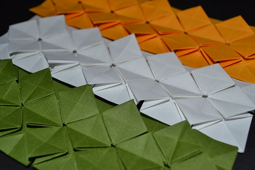 tessellations to color. Indian Tri-Color: Shuzo