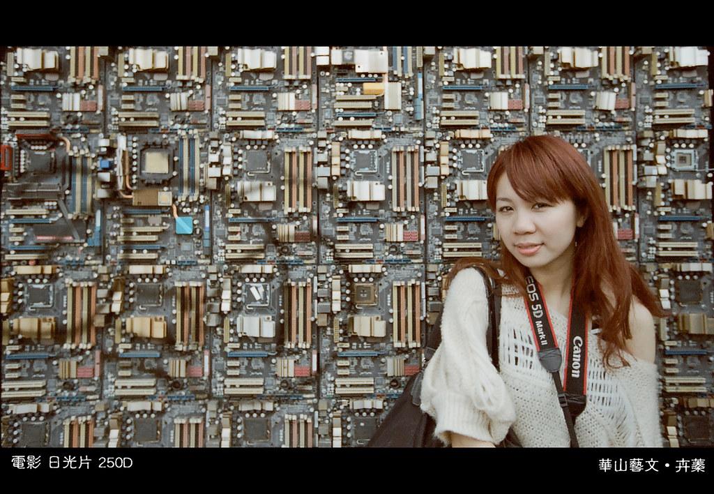 電影底片250D 人像&景物&重複曝光