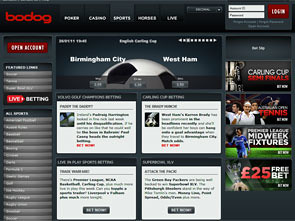 Bodog Sportsbook Home