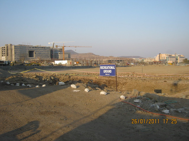 Recreational Ground, Sunway Megapolis Smart Homes 2, TCS, & Tech Mahindra  - Megapolis on 26th January 2011