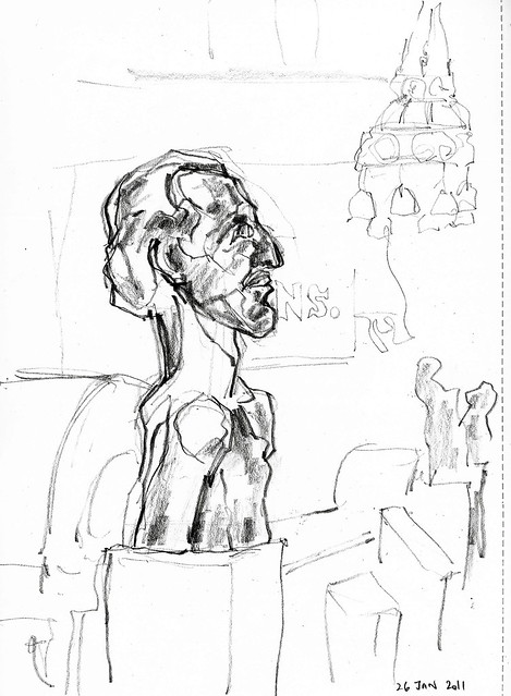 Horace Brodsky, by Gaudier-Brzeska, Bristol museum