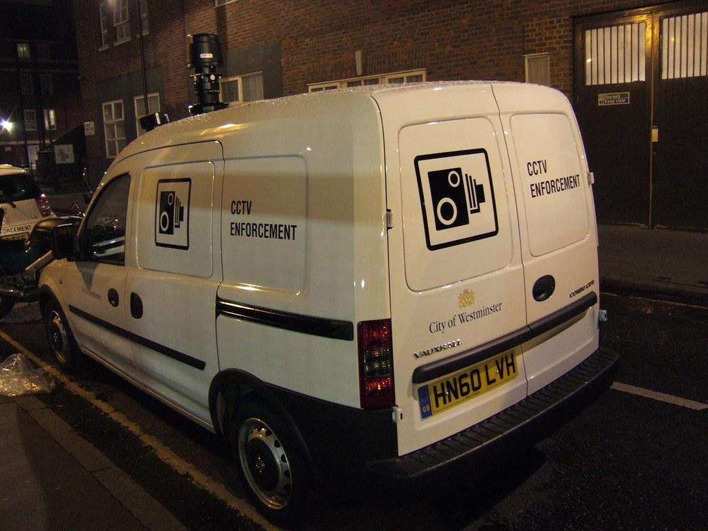 Westminster Council CCTV ANPR van