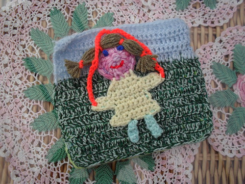 You're going to love this little girl with her Skipping rope for our 'Young At Heart' Blanket! Beautiful!