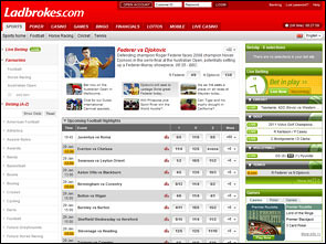 Ladbrokes Sportsbook Home