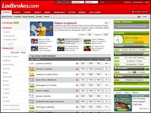 Ladbrokes Sportsbook Home