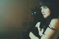 Black cats (basistka) Tags: woman girl cat poland basistka leśniańska