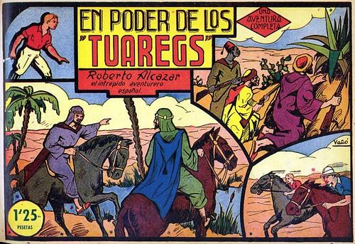 006--Roberto Alcázar -El poder de los Tuareg-portada