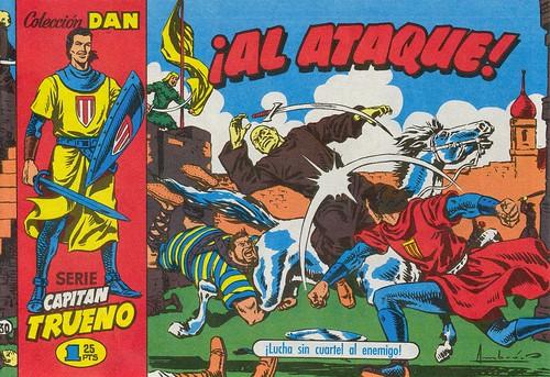 035-El Capitan Trueno nº 30-portada-1956