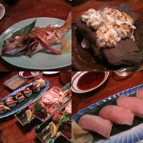 五郎八で食べたもの