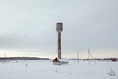 (dSavin) Tags: winter snow tower ice water ecology village cloudy russia bricks watertower plumbing stretch excellent civilization abc effort hay wtf pressure slope billet bottomup breakage  2011   againstthewind mismanagement     kolkhoz           financesaresinginglovesongs singballads