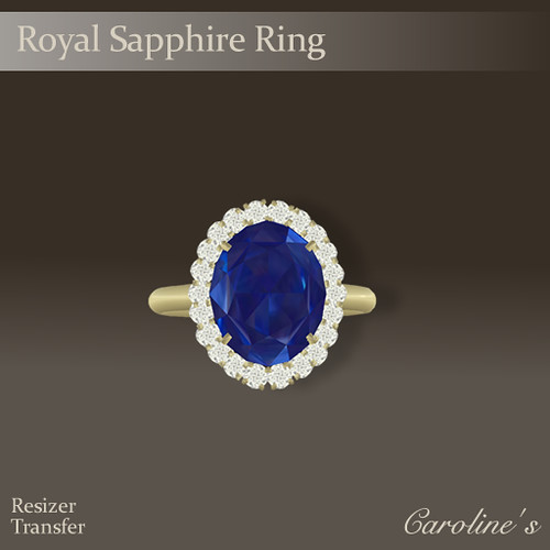 Caroline's Jewelry Royal Sapphire Ring