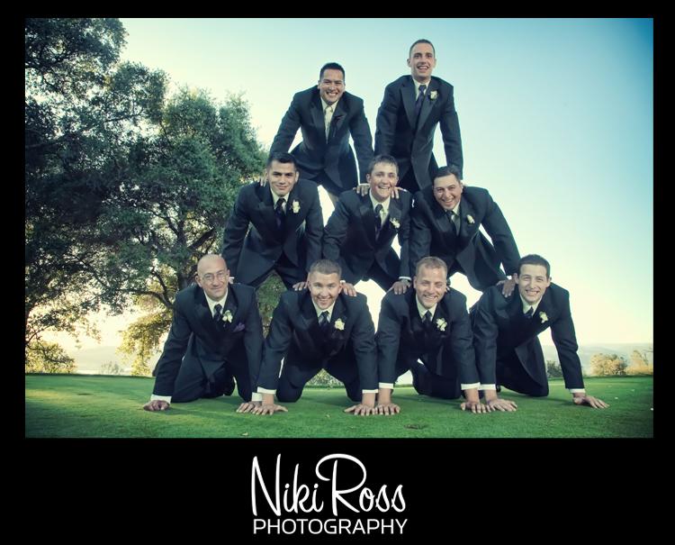 groomsmen-pyramid