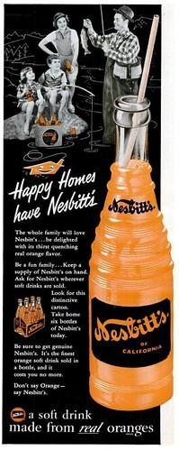 Nesbitt's Orange Soda Life Aug 16 1954