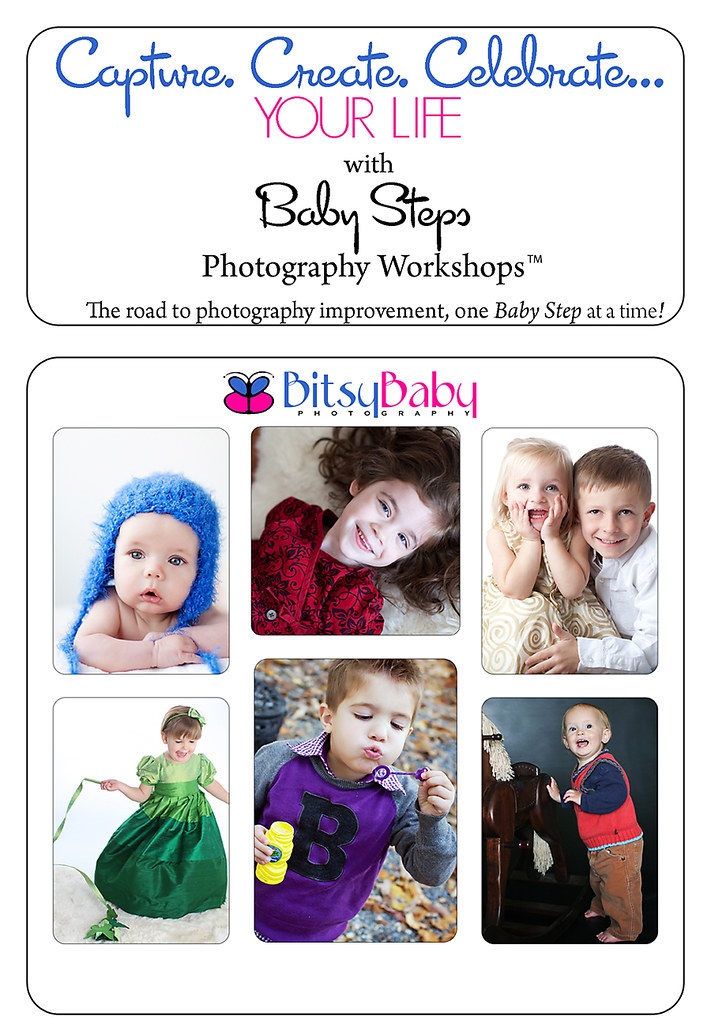 photography workshops flyer for the blog