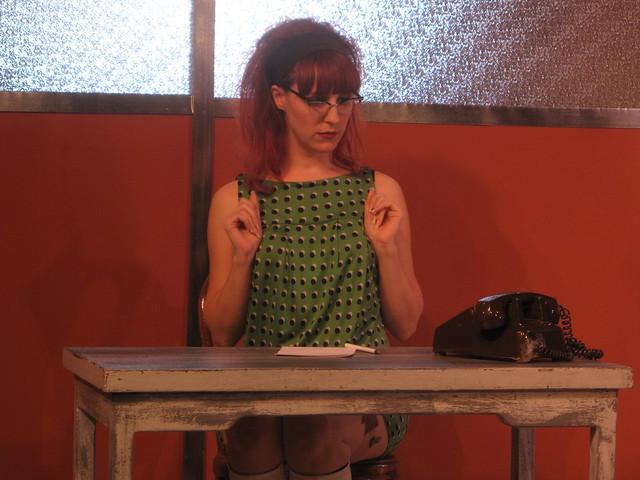 Secretary Mary McKilligan (Mandi Moss).