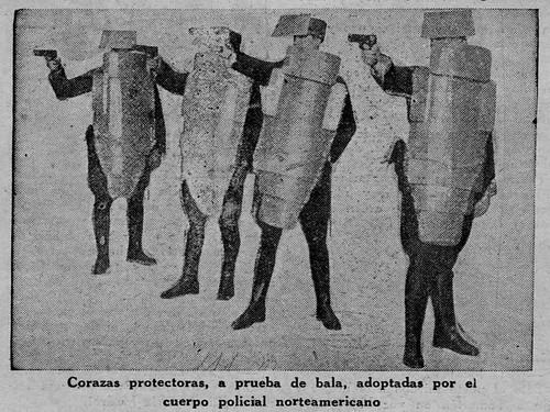 Corazas protectoras 1936