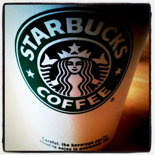 picture of a Starbucks cup of coffee