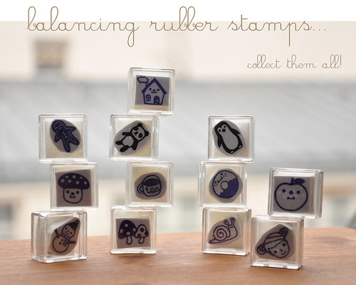 New hand carved rubber stamps
