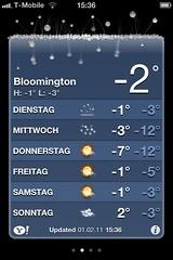 Bloomington Weather Stats